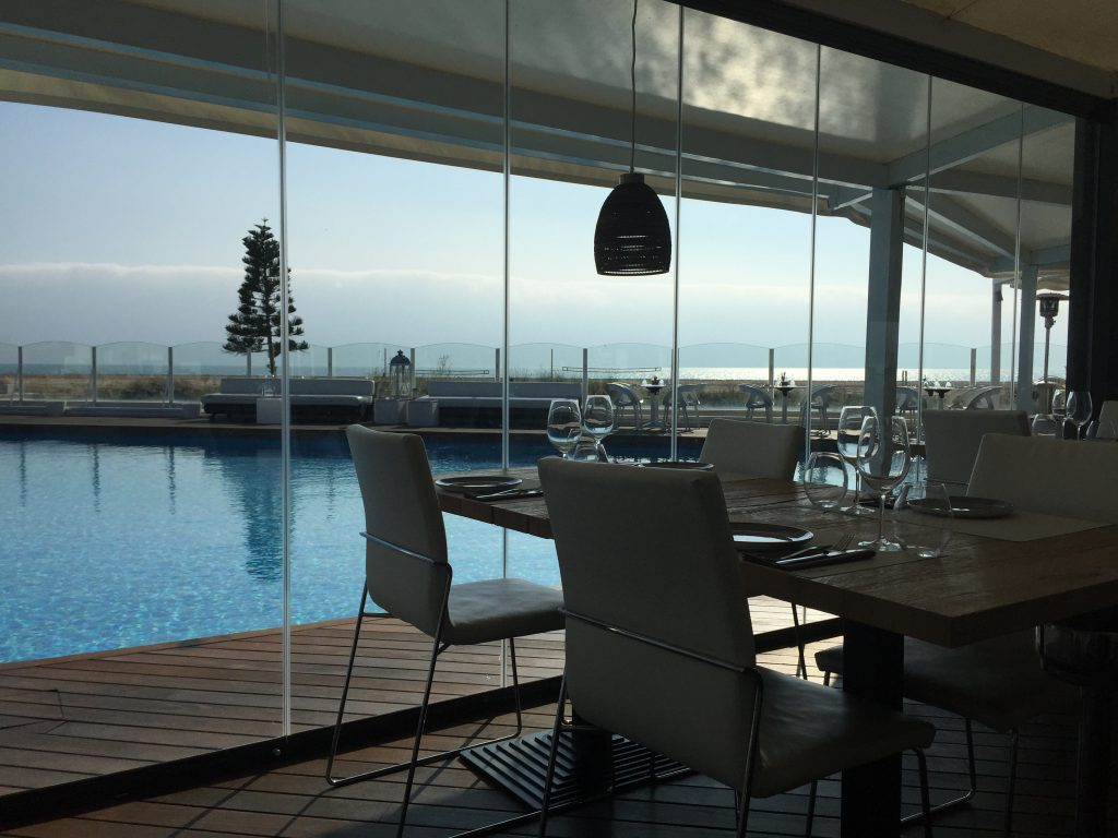 Glass Enclosure In A Restaurant In Castelldefels