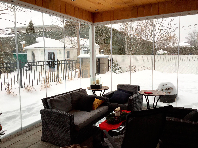 Cerramiento en porche Montreal