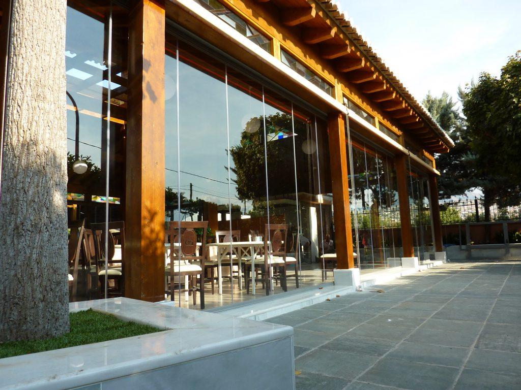 Glass Enclosure In A Restaurant In Granada Todocristal En