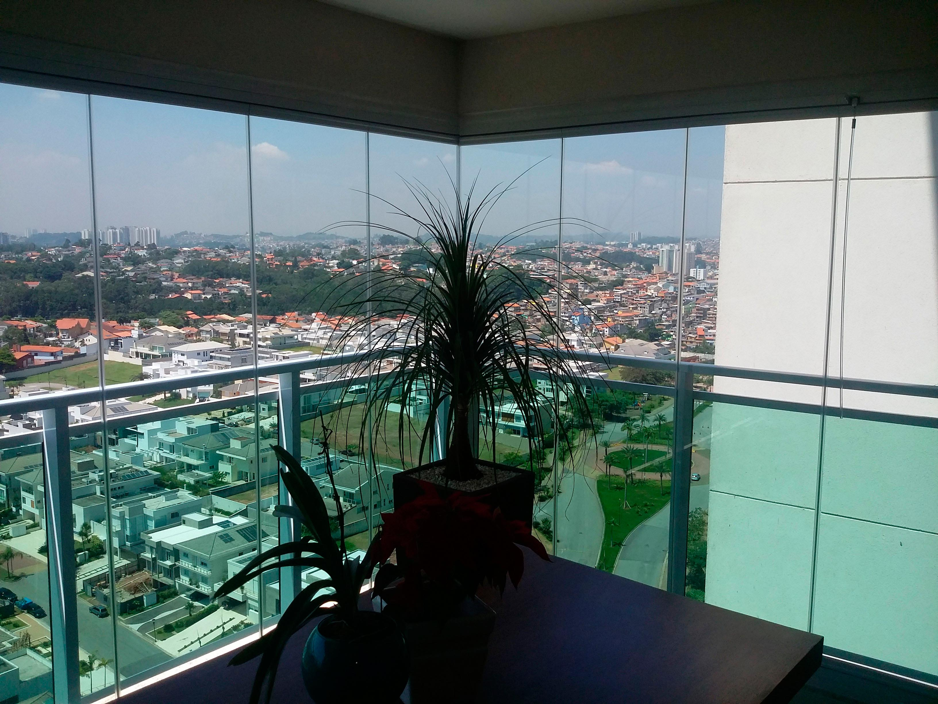 Cortina de cristal en brasil