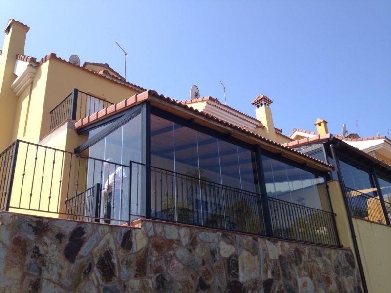 Acristalamiento de porche en Las Palmas