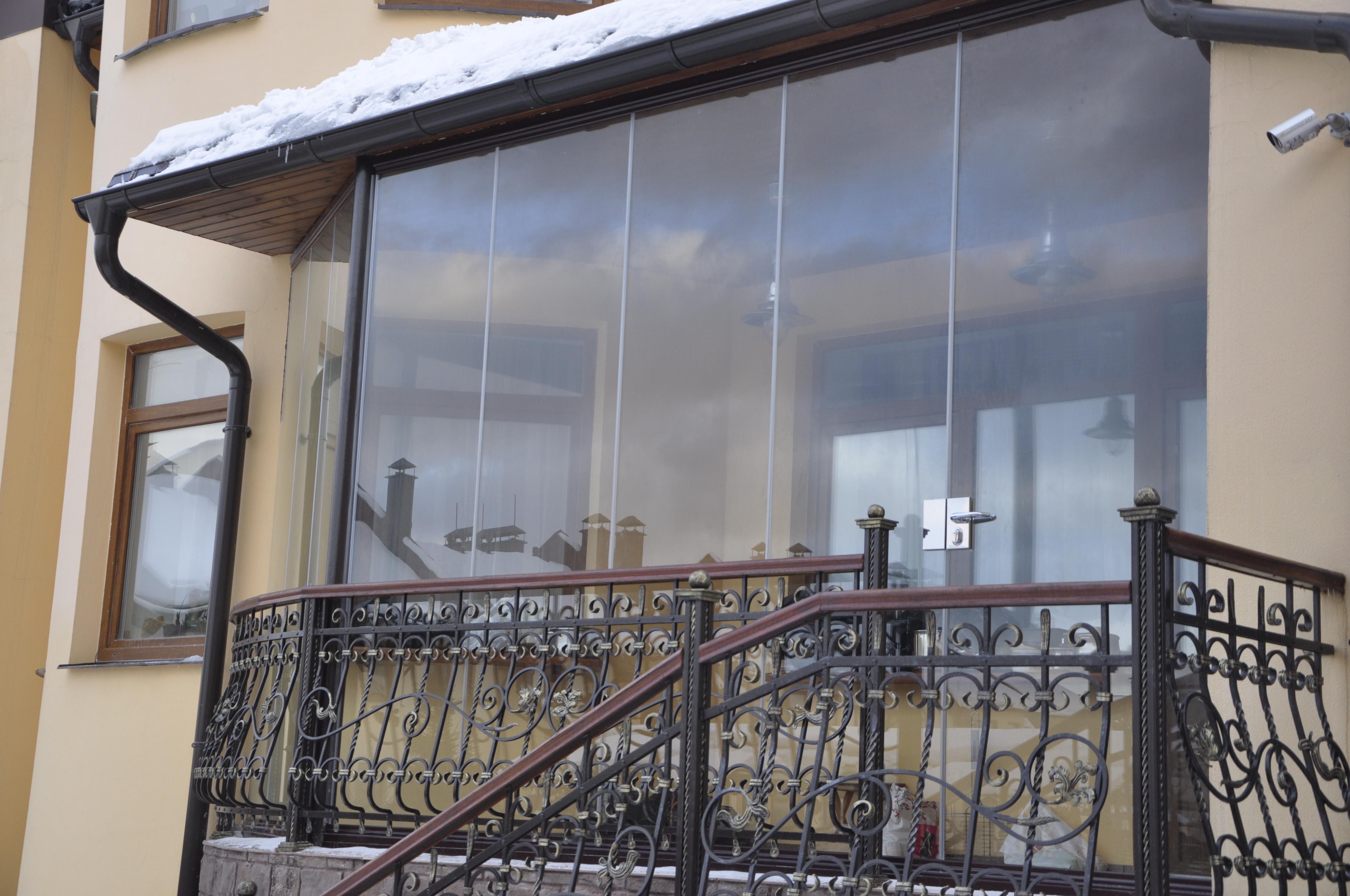 Cortinas de cristal de terraza en mosc todocristal pl - Cortinas de terraza ...