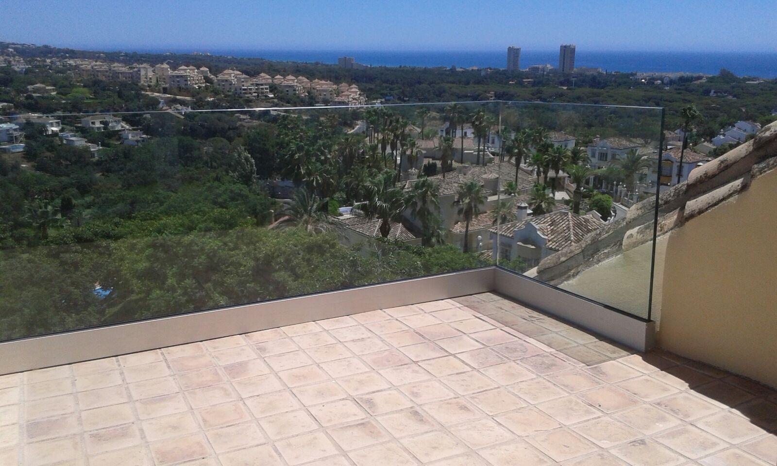 Barandillas de cristal para terrazas todocristal - Barandillas de cristal ...