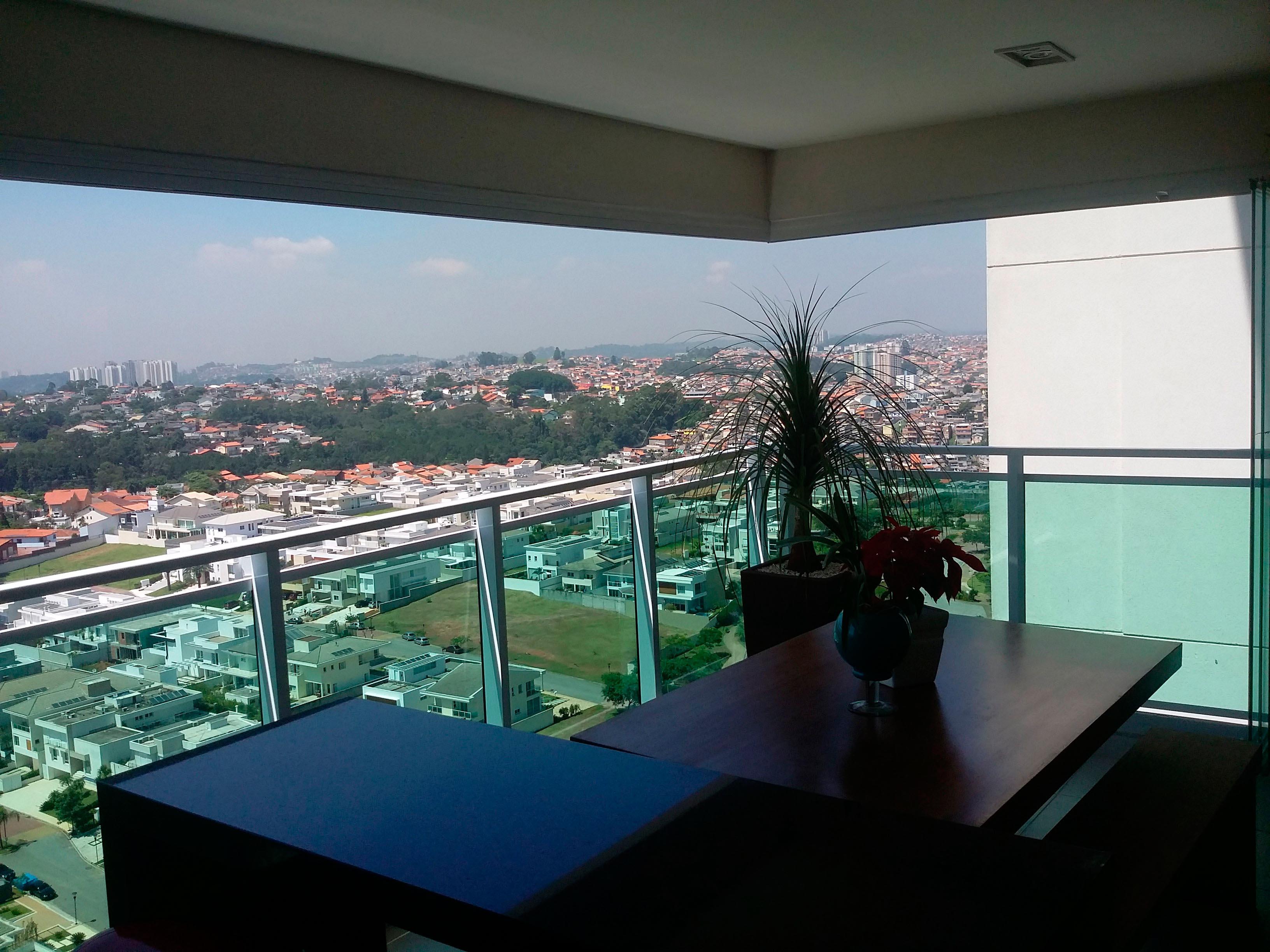 Cortinas De Cristal En Terraza De Brasil Todocristal