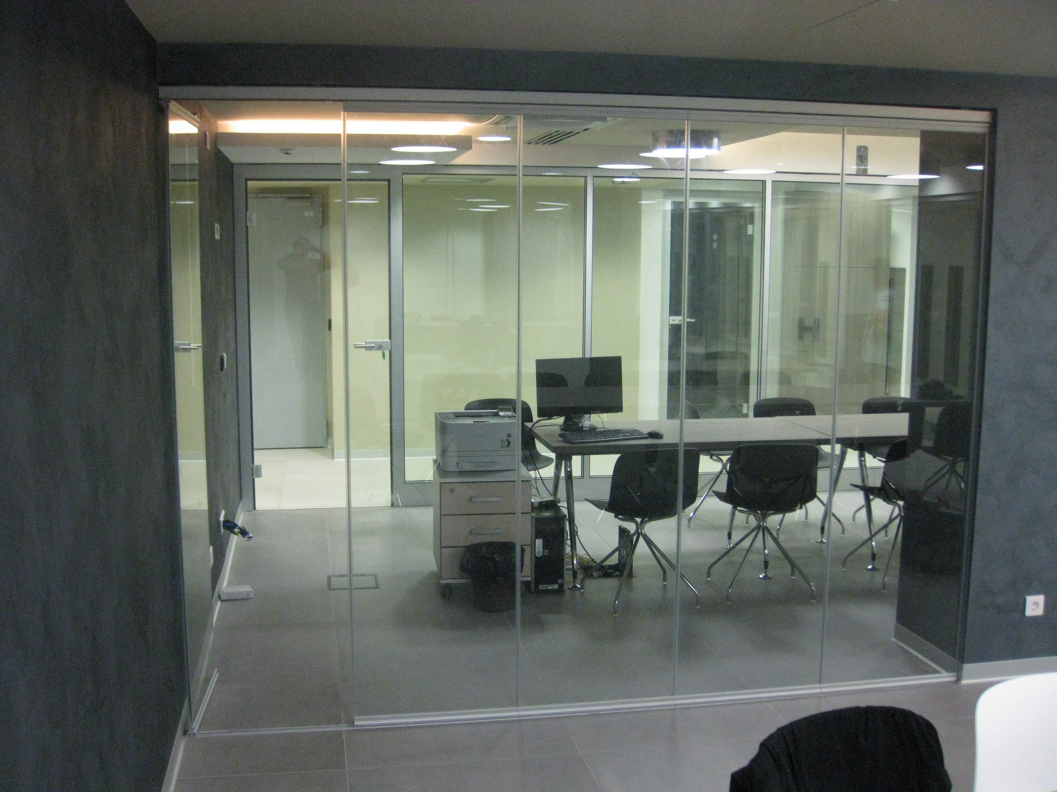 Oficinas archivos todocristal - Cortinas para oficinas ...