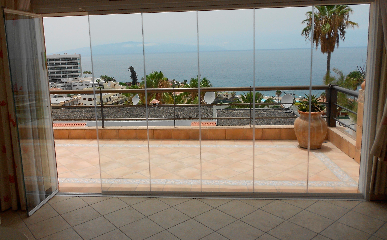 Acristalamiento de porche en Tenerife