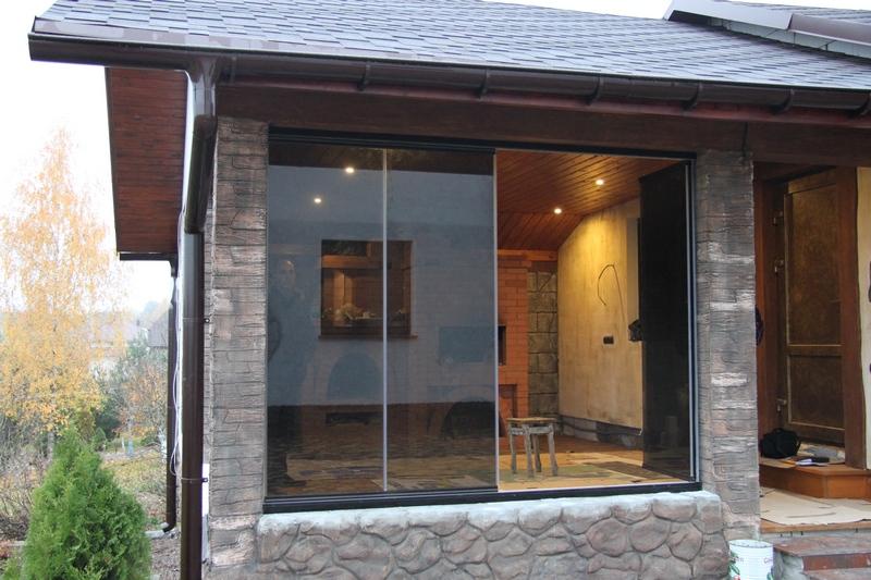 Cerramientos de cristal para porches todocristal - Tipos de porches ...
